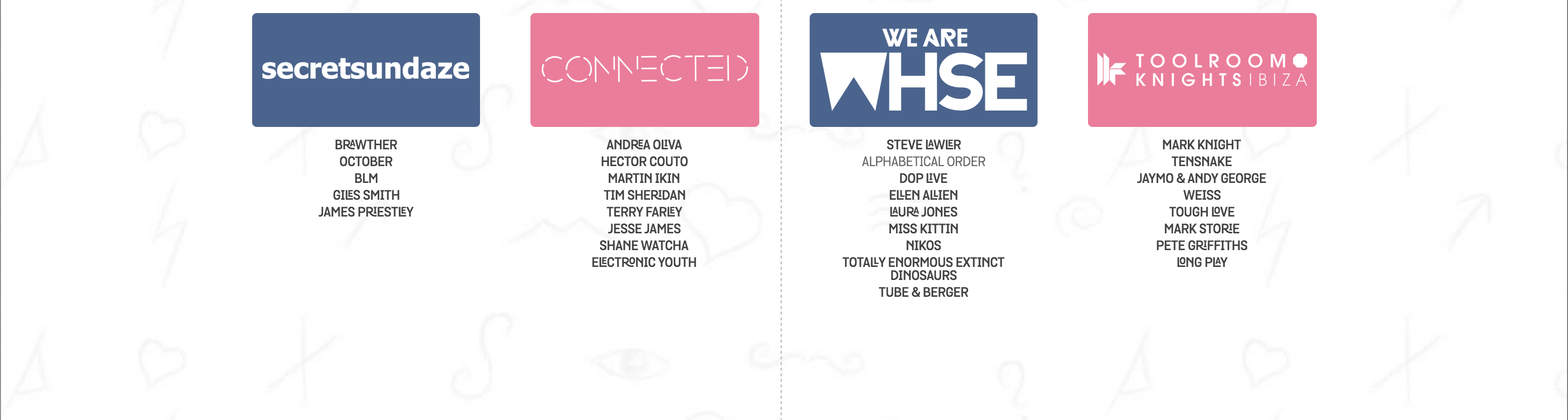 We Are FSTVL - Line Up