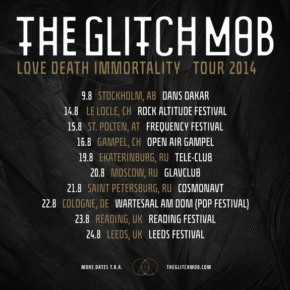 the glitch mob european tour 2014
