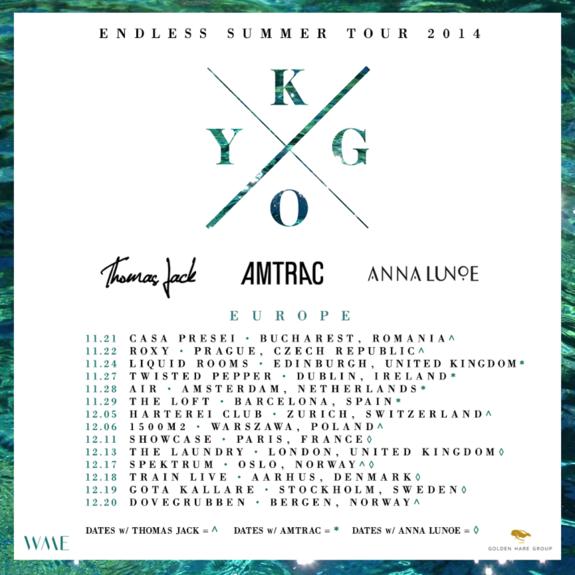 Kygo Summer Tour