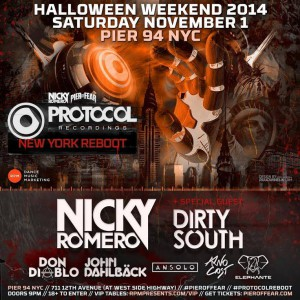 protocol nicky romero night