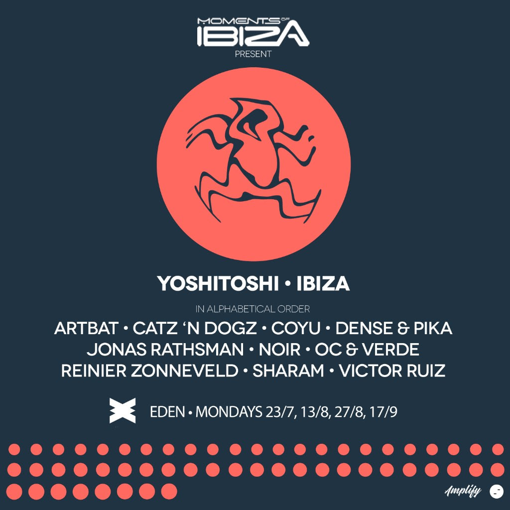 Sharam and Yoshitoshi in Ibiza