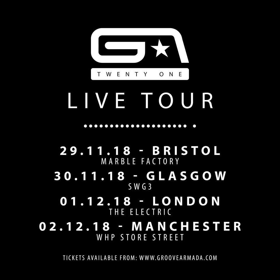 Groove Armada Live Tour