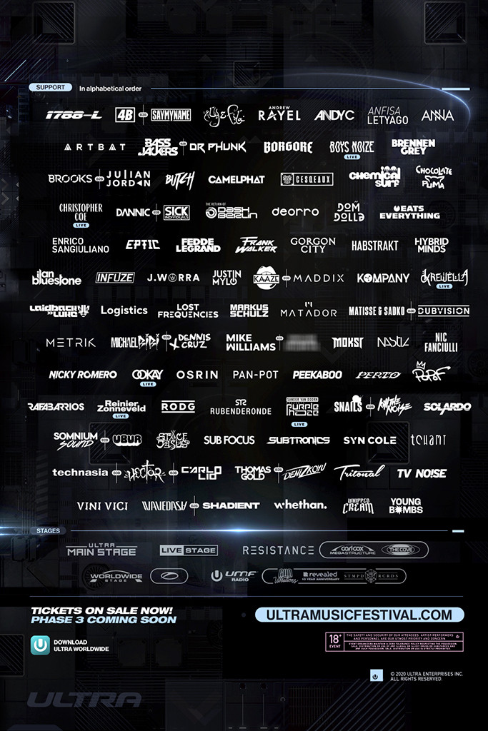Ultra Music Festival - Phase 2