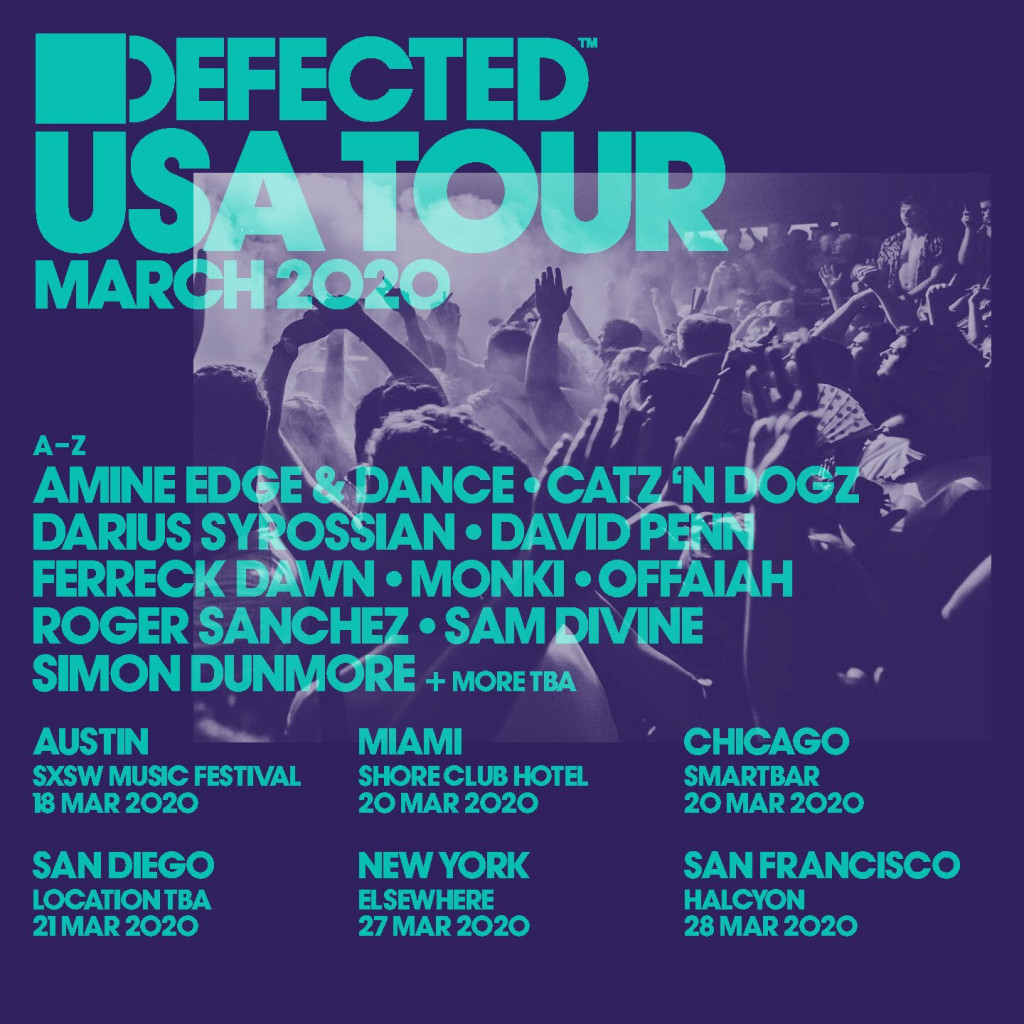 Defected USA Tour 2020