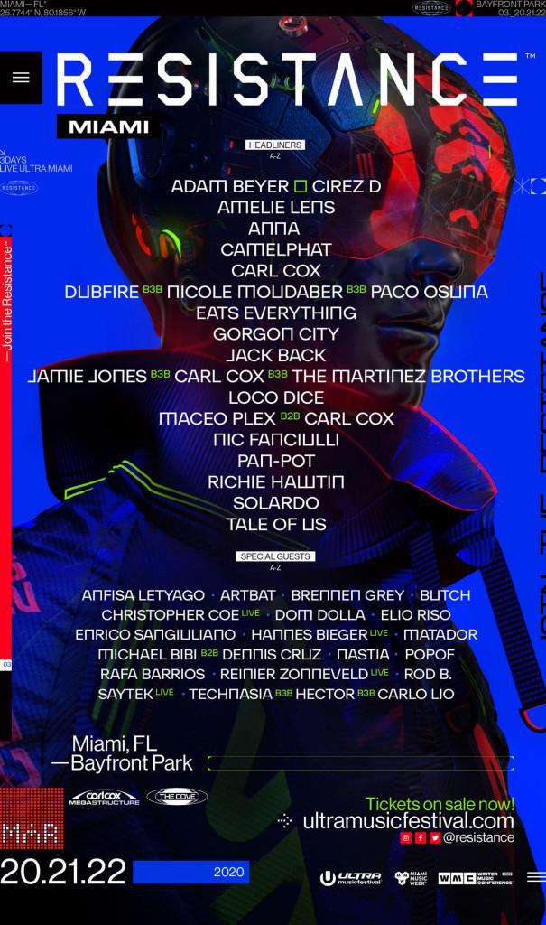 Ultra Music Festival 2020 Resistance