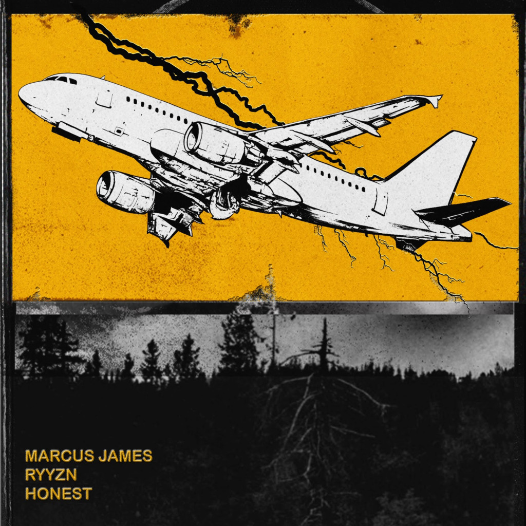 Marcus James - Honest (with RYYZN) - ARTWORK (REVISED)
