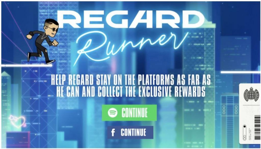 DJ Regard Runner